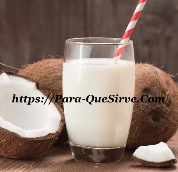 Para Qué Sirve La Leche De Coco Beneficios Para El Cabello Maltratado