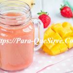 Para Que Sirve El Batido De Mango Y Fresa Beneficios Y Propiedades