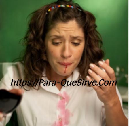 Cómo Quitar Manchas De Vino Tinto Secas En La Ropa.